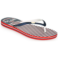 Sapatos Mulher Chinelos Pepe jeans RAKE SAILOR Azul / Branco / Vermelho