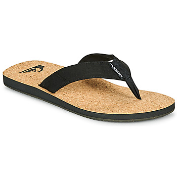 Sapatos Homem Chinelos Quiksilver MOLOKAI ABYSS NATURAL Preto
