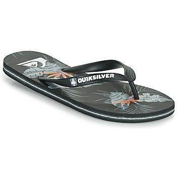 Sapatos Homem Chinelos Quiksilver MOLOKAI EVERYDAY Preto
