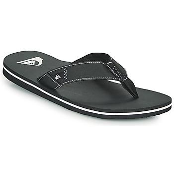Sapatos Homem Chinelos Quiksilver MOLOKAI ABYSS Preto