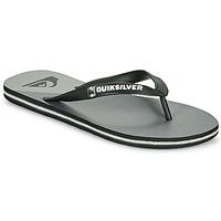 Sapatos Homem Chinelos Quiksilver MOLOKAI NEW WAVE Preto / Cinza