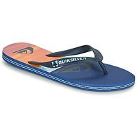 Sapatos Homem Chinelos Quiksilver MOLOKAI PANEL Azul / Laranja / Preto