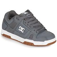 Sapatos Homem Sapatos estilo skate DC Shoes STAG Cinza