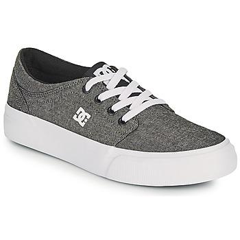 Sapatos Rapaz Sapatos estilo skate DC Shoes TRASE B SHOE XSKS Cinza