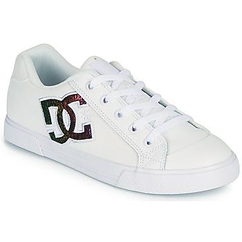 Sapatos Mulher Sapatos estilo skate DC Shoes CHELSEA J Branco / Rosa