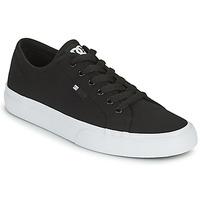 Sapatos Homem Sapatos estilo skate DC Shoes MANUAL Preto / Branco