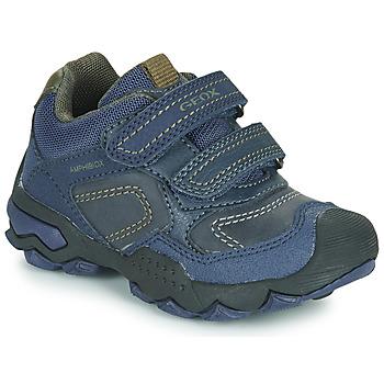 Sapatos Rapaz Sapatilhas Geox J BULLER BOY B ABX Azul
