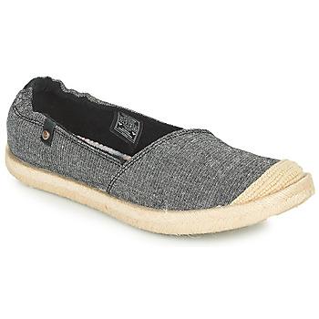 Sapatos Mulher Alpargatas Roxy CORDOBA Cinza / Escuro