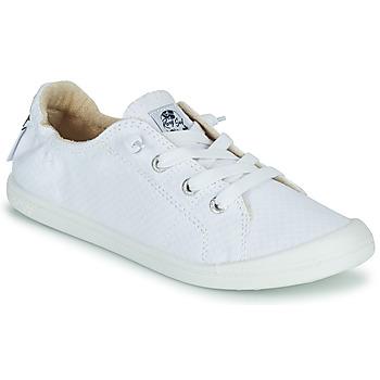 Sapatos Mulher Sapatilhas Roxy BAYSHORE III Branco
