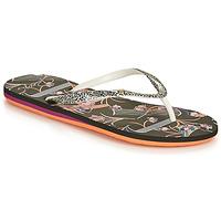 Sapatos Mulher Chinelos Roxy PORTOFINO III Preto