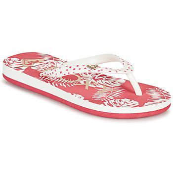 Sapatos Rapariga Chinelos Roxy PEBBLES VII G Rosa