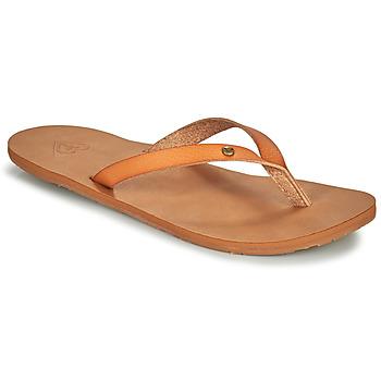 Sapatos Mulher Chinelos Roxy JYLL III Camel
