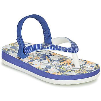 Sapatos Rapariga Chinelos Roxy TW PEBBLES VI Azul