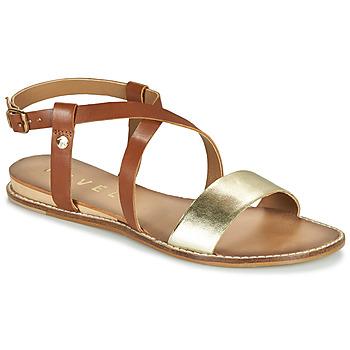 Sapatos Mulher Sandálias Ravel ASPEN Ouro / Camel