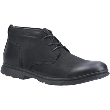 Sapatos Homem Botas baixas Hush puppies  Preto