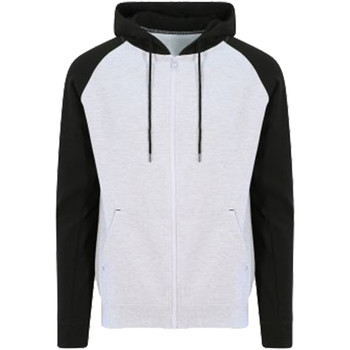 Textil Homem Sweats Awdis JH063 Heather Grey/Jet Black