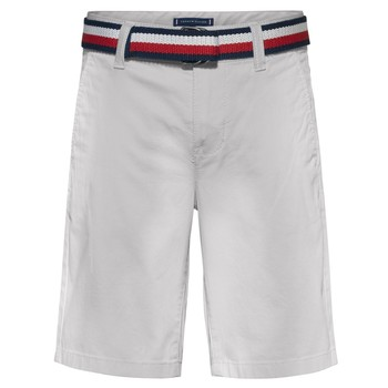 Textil Rapaz Shorts / Bermudas Tommy Hilfiger FORTA Branco
