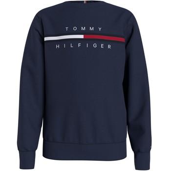 Textil Rapaz Sweats Tommy Hilfiger KB0KB06568-C87 Marinho