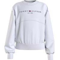 Textil Rapariga Sweats Tommy Hilfiger THUBOR Branco