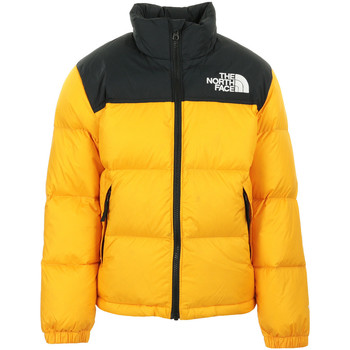 Textil Criança Jaquetas The North Face 1996 Retro Nuptse Jacket Kids Amarelo
