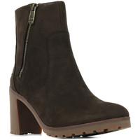 Sapatos Mulher Sapatilhas Timberland Allington Bootie Castanho