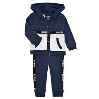 Textil Rapaz Conjunto Guess P1RG00-KA6W0-DEKB Marinho
