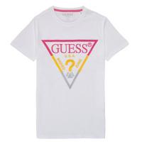 Textil Rapaz T-Shirt mangas curtas Guess H1RJ05-K8HM0-P66P Branco