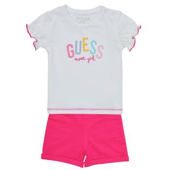 Textil Rapariga Conjunto Guess A1GG07-K6YW1-TWHT Multicolor