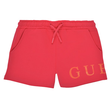 Textil Rapariga Shorts / Bermudas Guess K1GD08-KAN00-C448 Rosa