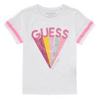 Textil Rapariga T-Shirt mangas curtas Guess K1RI04-K6YW1-TWHT Branco