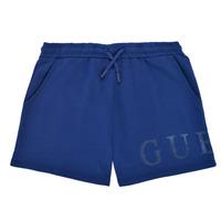 Textil Rapariga Shorts / Bermudas Guess J1GD00-KAN00-PSBL Marinho