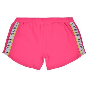 Textil Rapariga Shorts / Bermudas Guess J1GD12-KAE20-JLPK Rosa