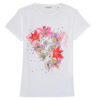 Textil Rapariga T-Shirt mangas curtas Guess J1RI24-K6YW1-TWHT Branco
