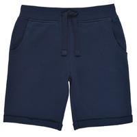 Textil Rapaz Shorts / Bermudas Guess N93Q18-K5WK0-C765 Marinho