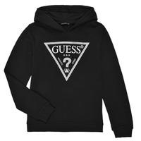 Textil Rapariga Sweats Guess J83Q14-K5WK0-A996 Preto