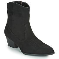 Sapatos Mulher Botins Vanessa Wu  Preto