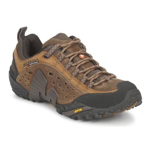 Sapatos Homem Sapatos de caminhada Merrell INTERCEPT Castanho