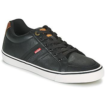Sapatos Homem Sapatilhas Levi's TURNER Preto