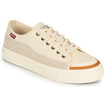 Sapatos Mulher Sapatilhas Levi's SQUARE LOW S Branco