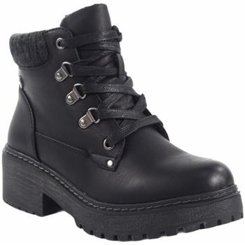Sapatos Mulher Botas baixas Olivina 19002 Negro
