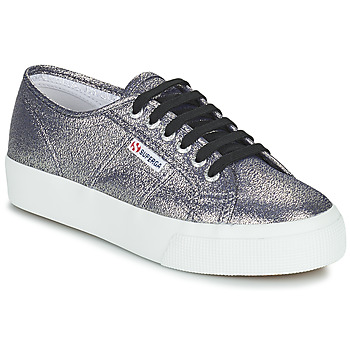 Sapatos Mulher Sapatilhas Superga 2730 LAMEW Prata