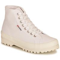Sapatos Mulher Sapatilhas de cano-alto Superga 2341 ALPINA COTU Branco