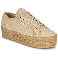 Sapatos Mulher Sapatilhas Superga 2790 JUTECOTROPEW Bege