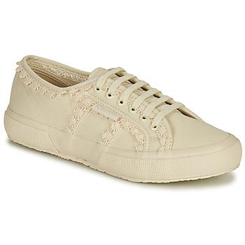 Sapatos Mulher Sapatilhas Superga 2750 COTW LACEPIPING Bege