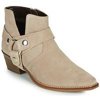 Sapatos Mulher Botas Steve Madden GOLDA Bege