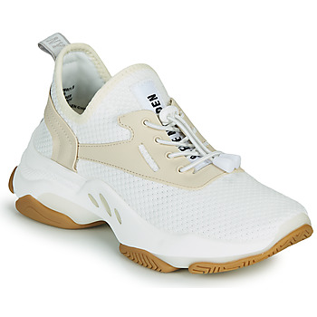 Sapatos Mulher Sapatilhas Steve Madden MATCH Branco / Bege