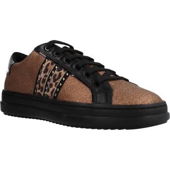 Sapatos Mulher Sapatilhas Geox D PONTOISE Marron