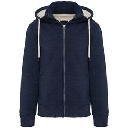 Textil Homem Sweats Kariban Vintage K2312 Noite Blue Heather