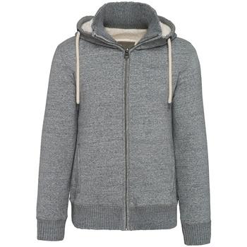 Textil Homem Sweats Kariban Vintage K2312 Slub Grey Heather