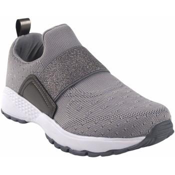 Sapatos Mulher Slip on B&w Das mulheres  28111 sapata cinzenta Cinza